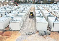 400 konteyner yerleştirildi
