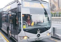 İstanbul'a yeni 300 metrobüs
