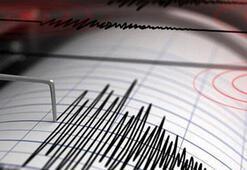 Son dakika... Marmara Denizinde deprem Büyüklüğü...