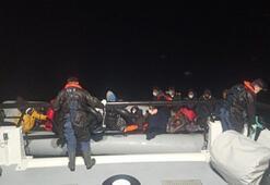Türk karasularına geri itilen 34 göçmen kurtarıldı