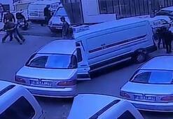 Çarpan sürücüye kurşun yağdıran maganda kamerada