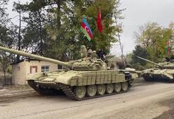 Son dakika... 27 yıl sonra bir ilk Azerbaycan ordusu girdi