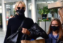 Pınar Altuğ kızıyla alışveriş yaptı