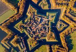 Hollandanın ünlü kalesi Bourtange