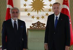 Cumhurbaşkanı Erdoğan Afganistan Milli Uzlaşı Yüksek Konseyi Başkanını kabul etti