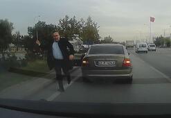 Konyada levyeli saldırgan tutuklandı