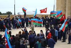 Azerbaycanlılar, Ağdamın işgalden kurtuluşunu kutluyor