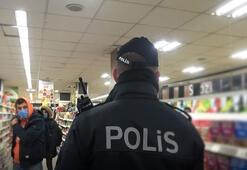 Arnavutköyde yasağa rağmen müşteri alan marketçiye ceza