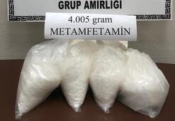 Mardinde 4 kilo metamfetamin ele geçirildi
