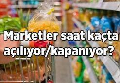 Marketler saat kaçta açılıyor/kapanıyor Yeni tedbirler kapsamında market çalışma saatleri değiştirildi