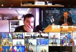 Son dakika... Gazeteci gizli toplantıya sızdı Ortalık karıştı