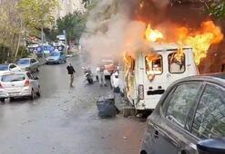 İstanbul'da korku dolu anlar Alev topuna döndü