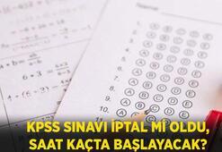 KPSS ortaöğretim sınavı ne zaman 2020, iptal mi oldu  KPSS ortaöğretim sınava saat kaçta başlayacak, kaç dakika olacak