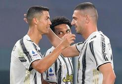 Juventusta Merih Demiralın gecesi Ve Ronaldo...