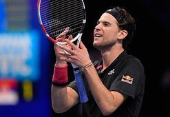 ATP Finallerinde Thiem finale çıktı