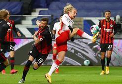Başakşehirin rakibi Leipzig, Eintracht Frankfurt deplasmanından 1 puan aldı