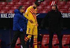 Barcelonaya Pique şoku 4-6 ay sahalardan uzak kalacak