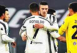 Son Dakika | İtalyada gündem Merih Demiral Juventus rahat kazandı milli yıldız şov yaptı...
