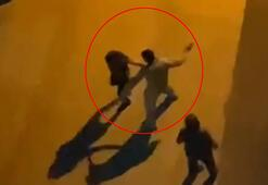 Antalyada rezalet Yol ortasında 2 kadını tokatladı