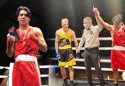 Türk genci Danimarka boks şampiyonu oldu