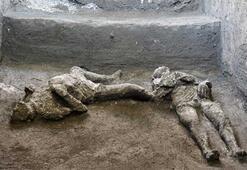 Pompeii'deki kazıda efendi ve kölesinin kalıntıları bulundu