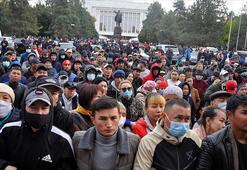 Kırgızistanda anayasa değişikliği taslağı protesto edildi