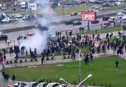 Belarustaki hükümet karşıtı protestolarda 80 kişi gözaltına alındı