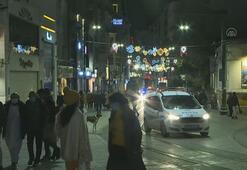 İstanbul sokağa çıkma kısıtlamasının başlamasıyla sessizliğe büründü