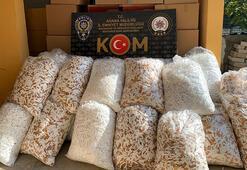 Adana'da 3 milyon 60 bin adet kaçak makaron ele geçirildi
