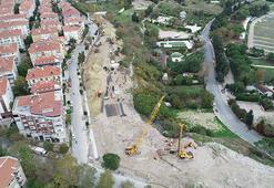 Avcılara kazıklı önlem 736 beton yer alacak