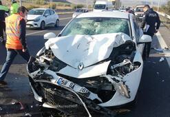 Kaza sonrası özür dilemek için indi, başka aracın çarpması sonucu öldü