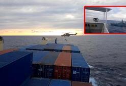 Son Dakika: Alman askerleri Türk gemisine çıktı Türkiye açıkladı