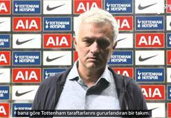 Jose Mourinho: Takımımla gurur duyuyorum