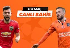 Manchester United- Başakşehir canlı bahis heyecanı Misli.comda