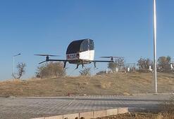 Siirtli kaşif hayalindeki uçan arabayı uçurmayı başardı