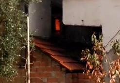 Yalnız yaşadığı evde çıkan yangında öldü
