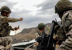 El Babda araziye tuzaklanan 25 kilo patlayıcı imha edildi