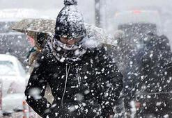 Son dakika... Şehir şehir açıklandı Meteorolojiden kar ve fırtına uyarısı