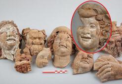 Ordu Kurul Kalesinde 2 bin 100 yıllık büst ve masklar bulundu