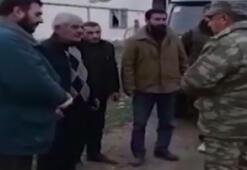 Azerbaycan askerleri, Ermeni sivillerin bölgeyi terk etmesine yardım etti