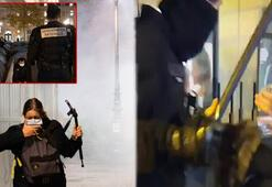 Ülke şokta Pariste polis göçmenlere saldırdı