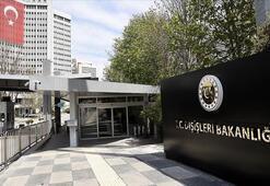 Türkiyeden skandal arama için açıklama: Hukuka aykırı biçimde ve zorla