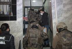 İstanbulda 16 farklı adrese baskın Gözaltılar var