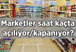 Hafta içi marketler saat kaçta açılıyor/kapanıyor BİM, A101, ŞOK, Carrefour, Migros çalışma saatleri (Açılış ve kapanış saatleri)