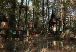 Avrupanın en büyük doğal yaşam parkı Ormanyaya ziyaretçi akını