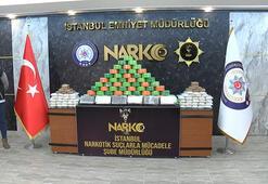 İstanbulda 116,5 kilogram uyuşturucu madde yakalandı