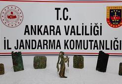 Ankarada ele geçirildi Bizans dönemine ait...