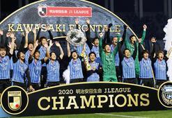 Japonya J1 Liginin şampiyonu Kawasaki Frontale