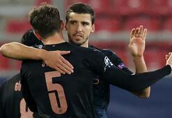 Deplasmanda Olympiakosu 1-0 yenen Manchester City, gruptan çıkmayı garantiledi