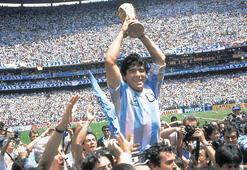 Maradona dünyayı ağlattı